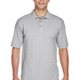 Harriton Mens Short Sleeve Polo Shirt - Heather Grey