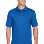 Harriton Mens Short Sleeve Polo Shirt - True Royal Blue