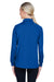 Harriton M211LW Advantage Tactical Moisture Wicking Long Sleeve Polo Shirt Royal Blue Back