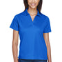 Harriton Womens Moisture Wicking Short Sleeve Polo Shirt - True Royal Blue