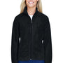 Harriton Womens Full Zip Fleece Jacket - Black