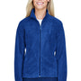 Harriton Womens Full Zip Fleece Jacket - True Royal Blue