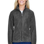 Harriton Womens Full Zip Fleece Jacket - Charcoal Grey