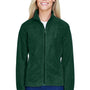 Harriton Womens Full Zip Fleece Jacket - Hunter Green