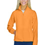 Harriton Womens Full Zip Fleece Jacket - Safety Orange