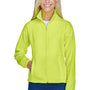 Harriton Womens Full Zip Fleece Jacket - Safety Yellow