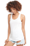 Next Level N1533 Womens Ideal Jersey Tank Top White Front