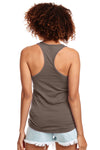 Next Level N1533 Womens Ideal Jersey Tank Top Warm Grey Back