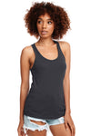 Next Level N1533 Womens Ideal Jersey Tank Top Dark Grey Front