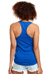 Next Level N1533 Womens Ideal Jersey Tank Top Royal Blue Back