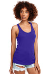 Next Level N1533 Womens Ideal Jersey Tank Top Purple Rush Front