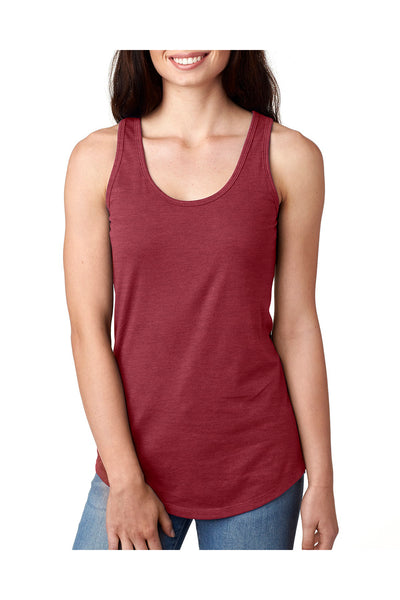 Next Level N1533 Womens Ideal Jersey Tank Top Scarlet Red Front