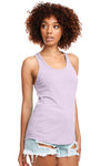 Next Level N1533 Womens Ideal Jersey Tank Top Lilac Pink Front