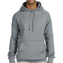 Hanes Mens Nano Fleece Hooded Sweatshirt Hoodie - Vintage Grey