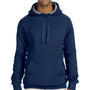 Hanes Mens Nano Fleece Hooded Sweatshirt Hoodie - Vintage Navy Blue