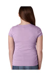 Next Level N3710 Youth Princess Fine Jersey Short Sleeve Crewneck T-Shirt Lilac Pink Back