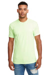 Next Level N6210 Mens CVC Jersey Short Sleeve Crewneck T-Shirt Apple Green Front