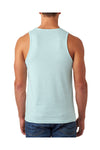 Next Level N6233 Mens CVC Jersey Tank Top Ice Blue Back