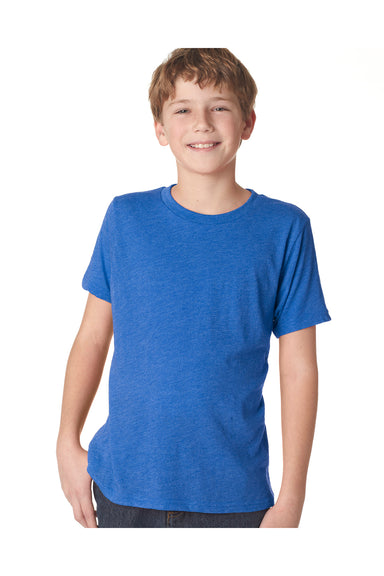 Next Level N6310 Youth Jersey Short Sleeve Crewneck T-Shirt Royal Blue Front