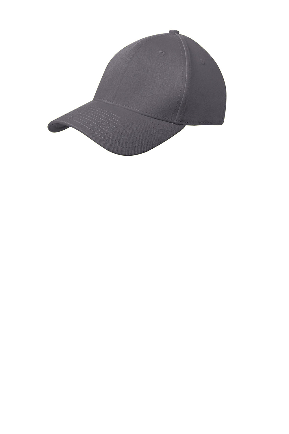 New Era NE1000 Mens Stretch Fit Hat Graphite Grey Front