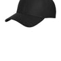 New Era Mens Moisture Wicking Stretch Fit Hat - Black