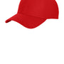New Era Mens Moisture Wicking Stretch Fit Hat - Scarlet Red
