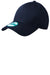 New Era NE200 Mens Adjustable Hat Navy Blue Front