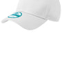 New Era Mens Adjustable Hat - White