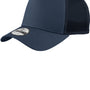 New Era Mens Adjustable Trucker Hat - Navy Blue