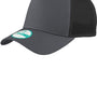 New Era Mens Adjustable Trucker Hat - Graphite Grey/Black