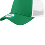 New Era Mens Adjustable Trucker Hat - Kelly Green/White
