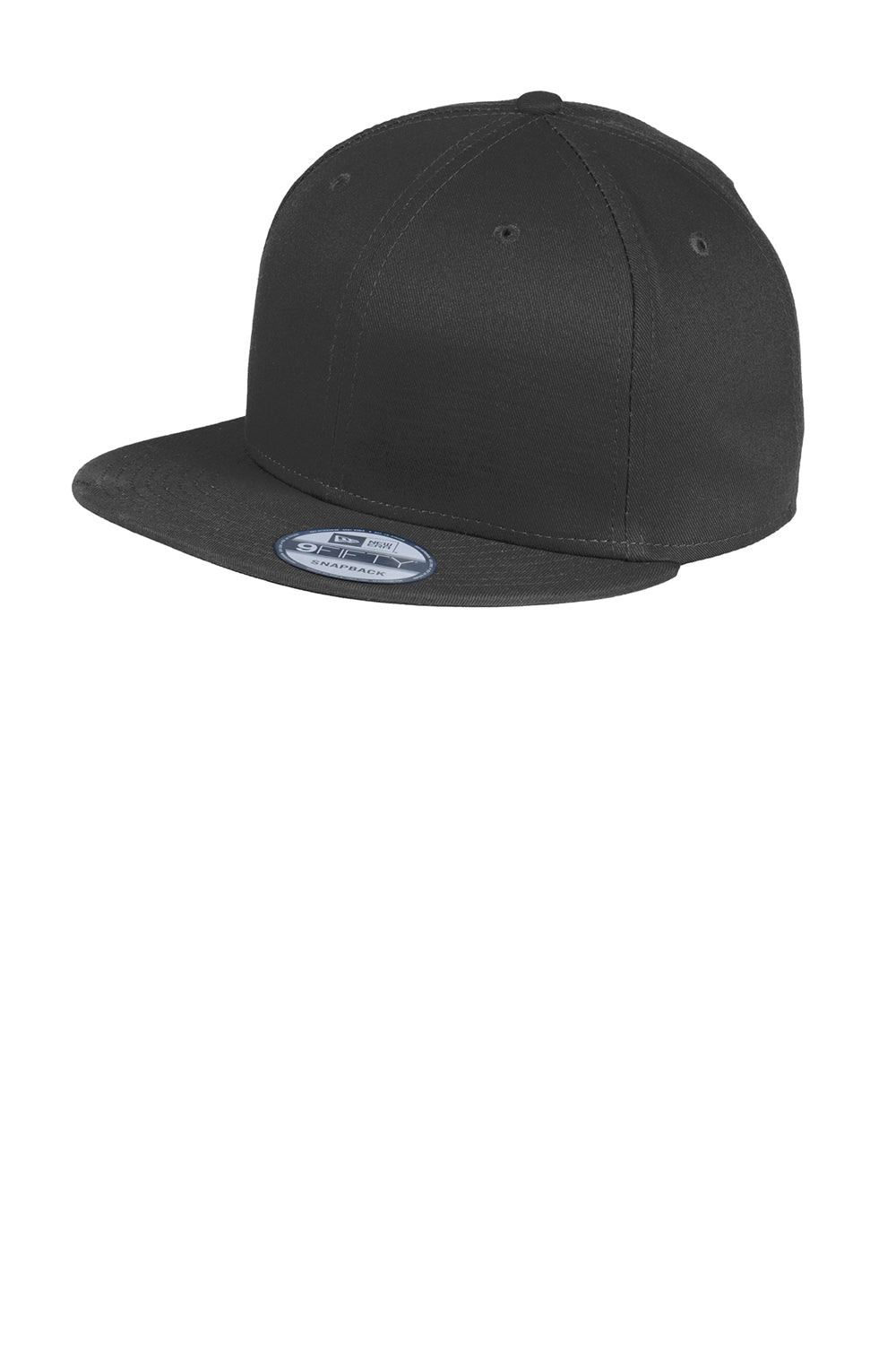 New Era NE400 Mens Adjustable Hat Black Front