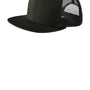 New Era Mens Adjustable Trucker Hat - Black