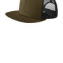 New Era Mens Adjustable Trucker Hat - Olive Green/Black