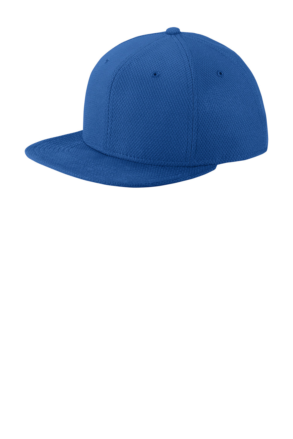 New Era NE404 Mens Moisture Wicking Adjustable Hat Royal Blue Front