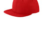 New Era Mens Moisture Wicking Adjustable Hat - Scarlet Red