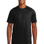 New Era Mens Series Performance Jersey Moisture Wicking Short Sleeve Crewneck T-Shirt - Black