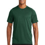 New Era Mens Series Performance Jersey Moisture Wicking Short Sleeve Crewneck T-Shirt - Dark Green