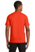 New Era NEA200 Mens Series Performance Jersey Moisture Wicking Short Sleeve Crewneck T-Shirt Orange Back