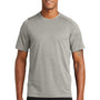 New Era Mens Series Performance Jersey Moisture Wicking Short Sleeve Crewneck T-Shirt - Rainstorm Grey