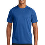 New Era Mens Series Performance Jersey Moisture Wicking Short Sleeve Crewneck T-Shirt - Royal Blue