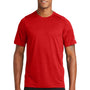New Era Mens Series Performance Jersey Moisture Wicking Short Sleeve Crewneck T-Shirt - Scarlet Red