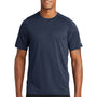 New Era Mens Series Performance Jersey Moisture Wicking Short Sleeve Crewneck T-Shirt - Navy Blue