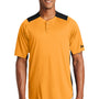 New Era Mens Diamond Era Moisture Wicking Short Sleeve Jersey - Gold/Black