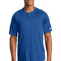 New Era Mens Diamond Era Moisture Wicking Short Sleeve Jersey - Royal Blue
