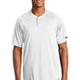 New Era Mens Diamond Era Moisture Wicking Short Sleeve Jersey - White