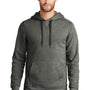New Era Mens Sueded French Terry Hooded Sweatshirt Hoodie - Black Twist