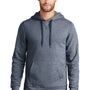 New Era Mens Sueded French Terry Hooded Sweatshirt Hoodie - Navy Blue Twist