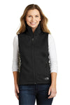 The North Face NF0A3LH1 Womens Ridgeline Wind & Water Resistant Full Zip Vest Black Front