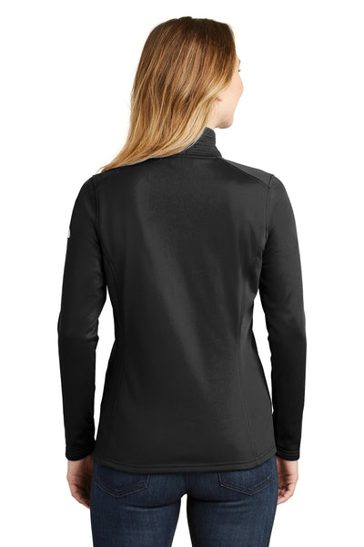 The North Face NF0A3LHC Womens Tech 1/4 Zip Fleece Jacket Black Back